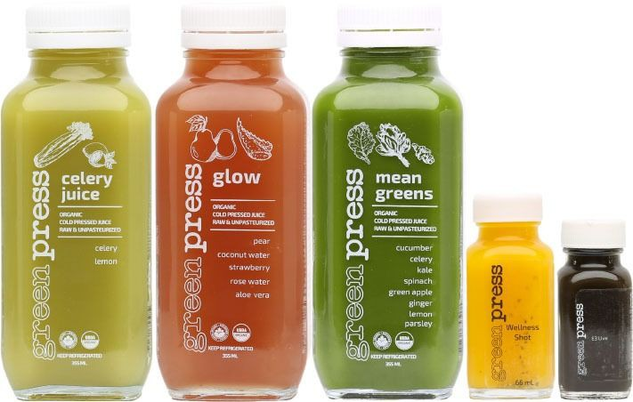 Skin juice cleanse 3 x 355 ml + 1 x 66 ml + 1 x 33 ml