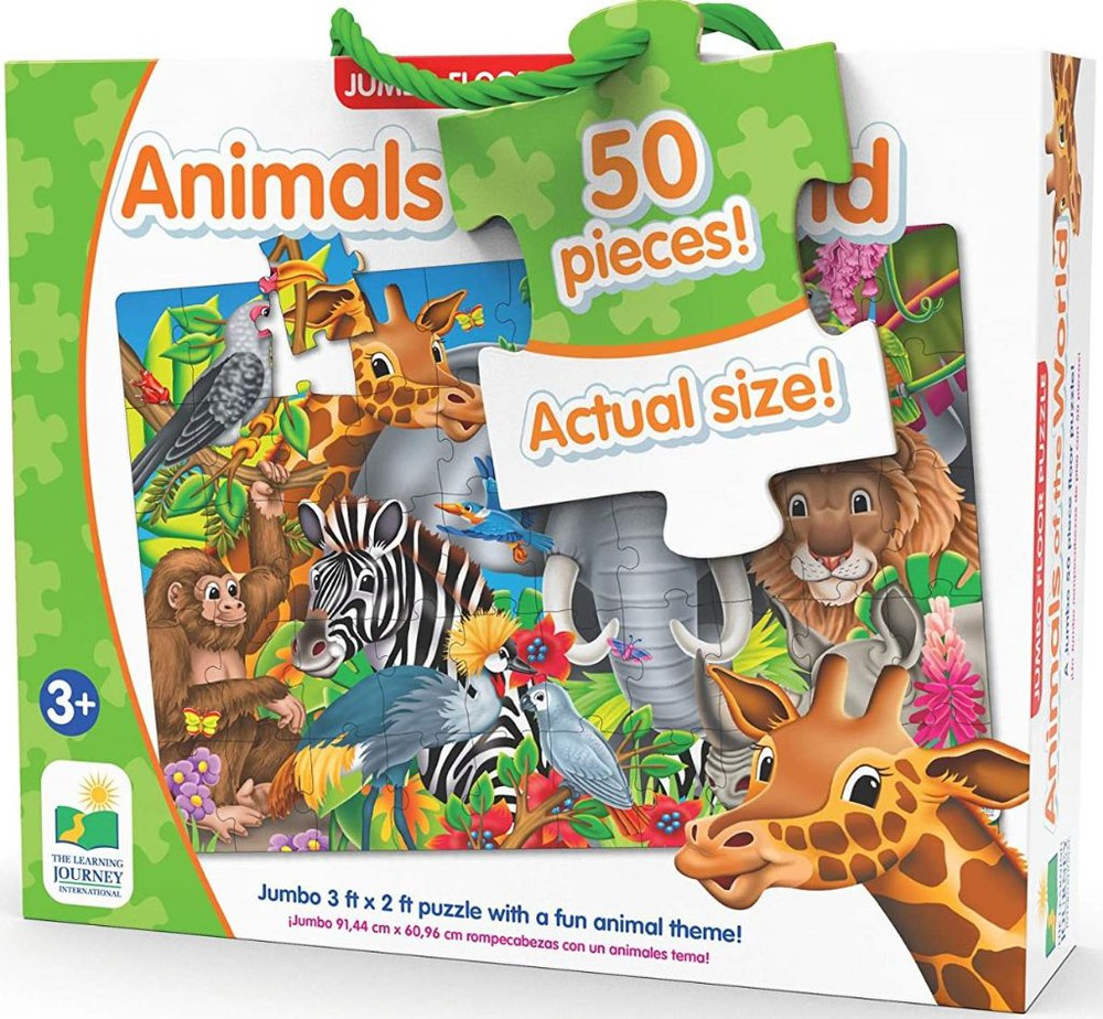 Animals of the world puzzle