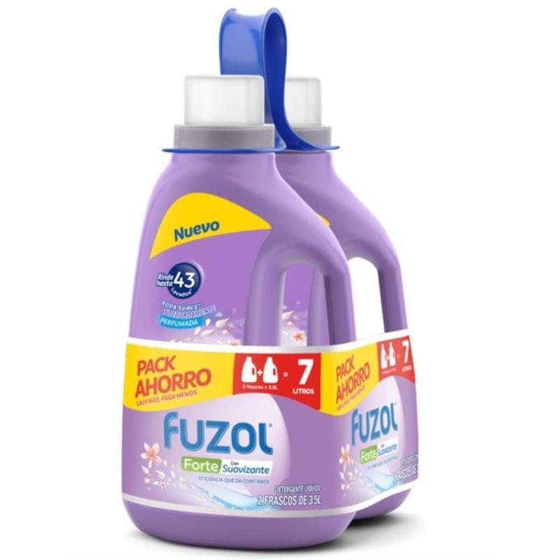 Pack detergente para ropa Forte con suavizante
