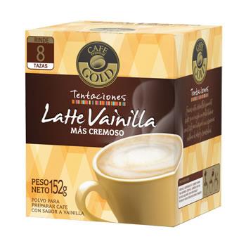 Café Tentaciones sabor latte vainilla