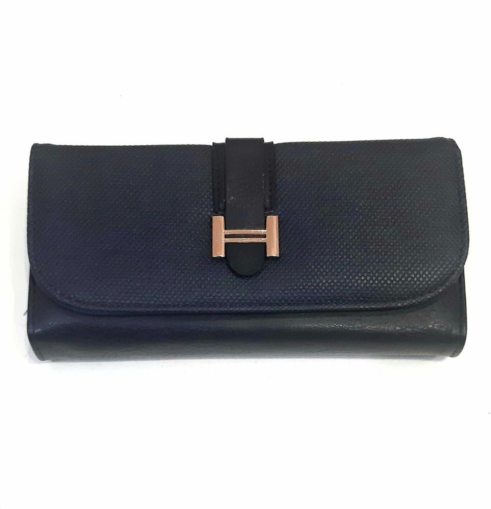 Billetera azul 19 x 10 x 3.20 cm