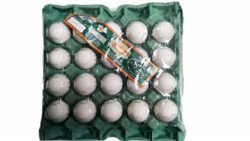 Ovos tipo branco extra grandes 20 unidades