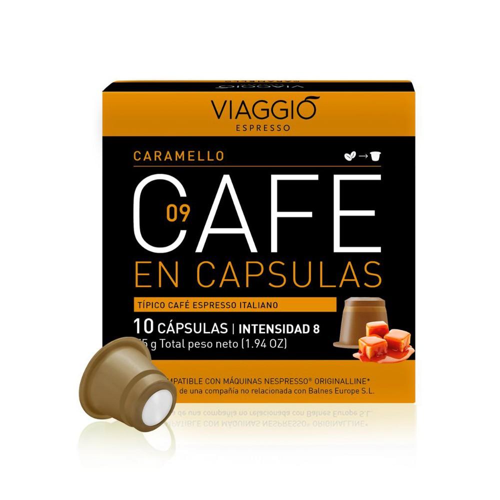 Cafe en cápsula para nespresso variedad caramelo Caja de 10 cápsulas