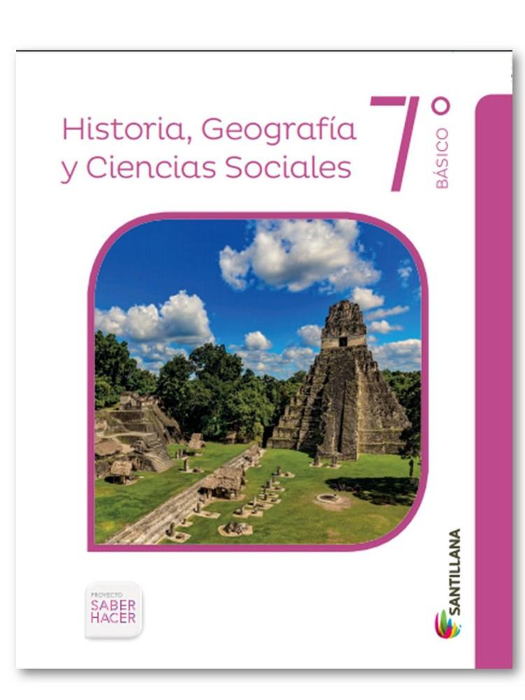 Historia, geografía y ciencias sociales 7ºb saber hacer