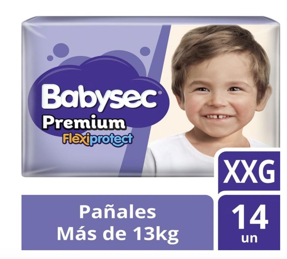 Pack pañales premium flexiprotec  XXG