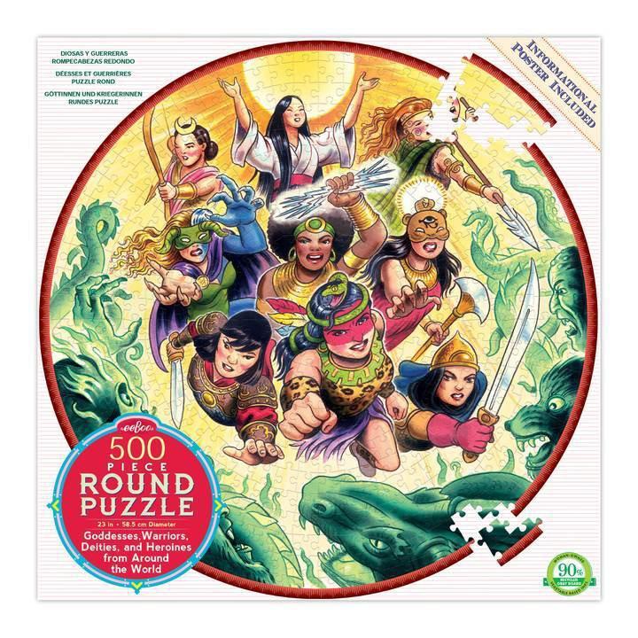 Goddesses & warriors puzzle 1 CT