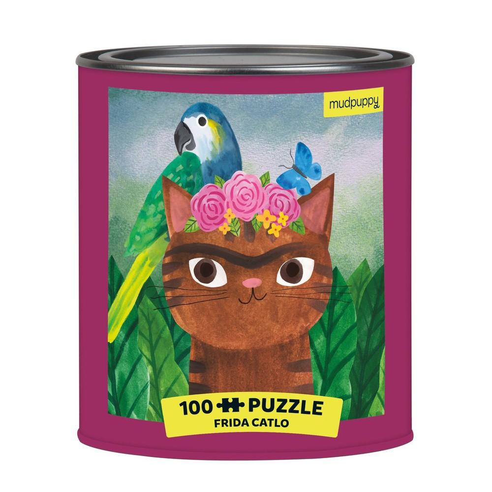 Frida catlo puzzle tin 1 CT