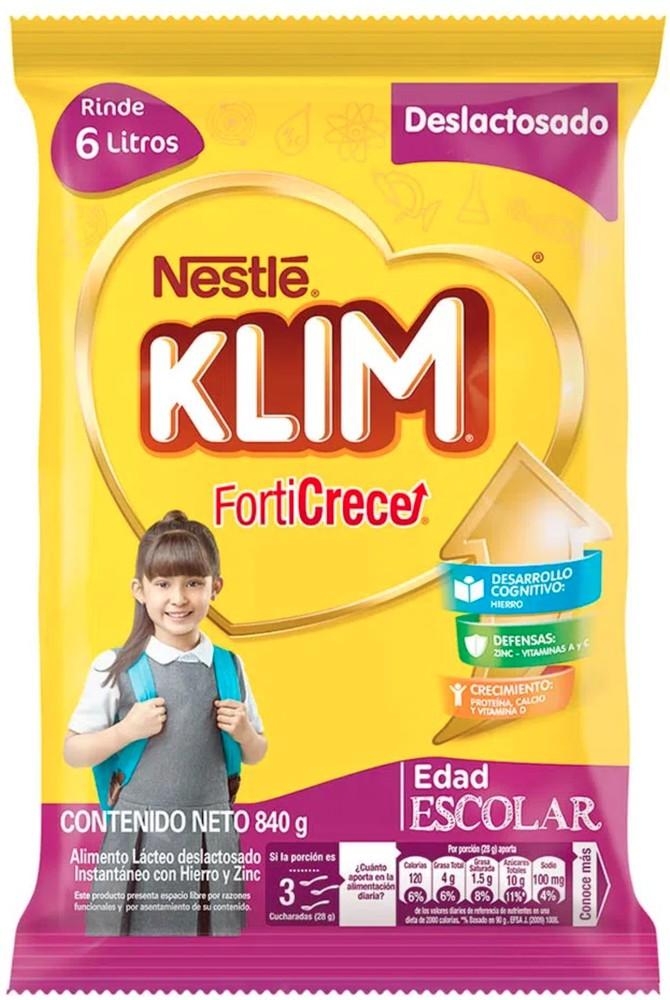 Klim alimento lácteo deslactosado