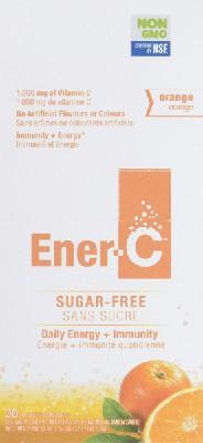 Sugar-free vitamin C orange drink mix 1000 mg