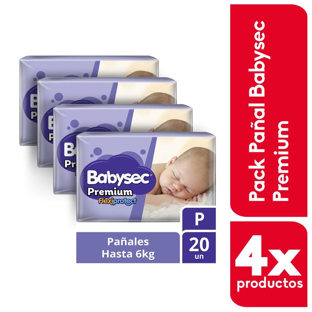 Pack pañales premium P