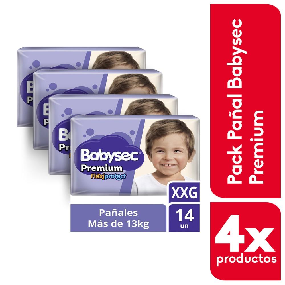 Pack pañal Premium XXG