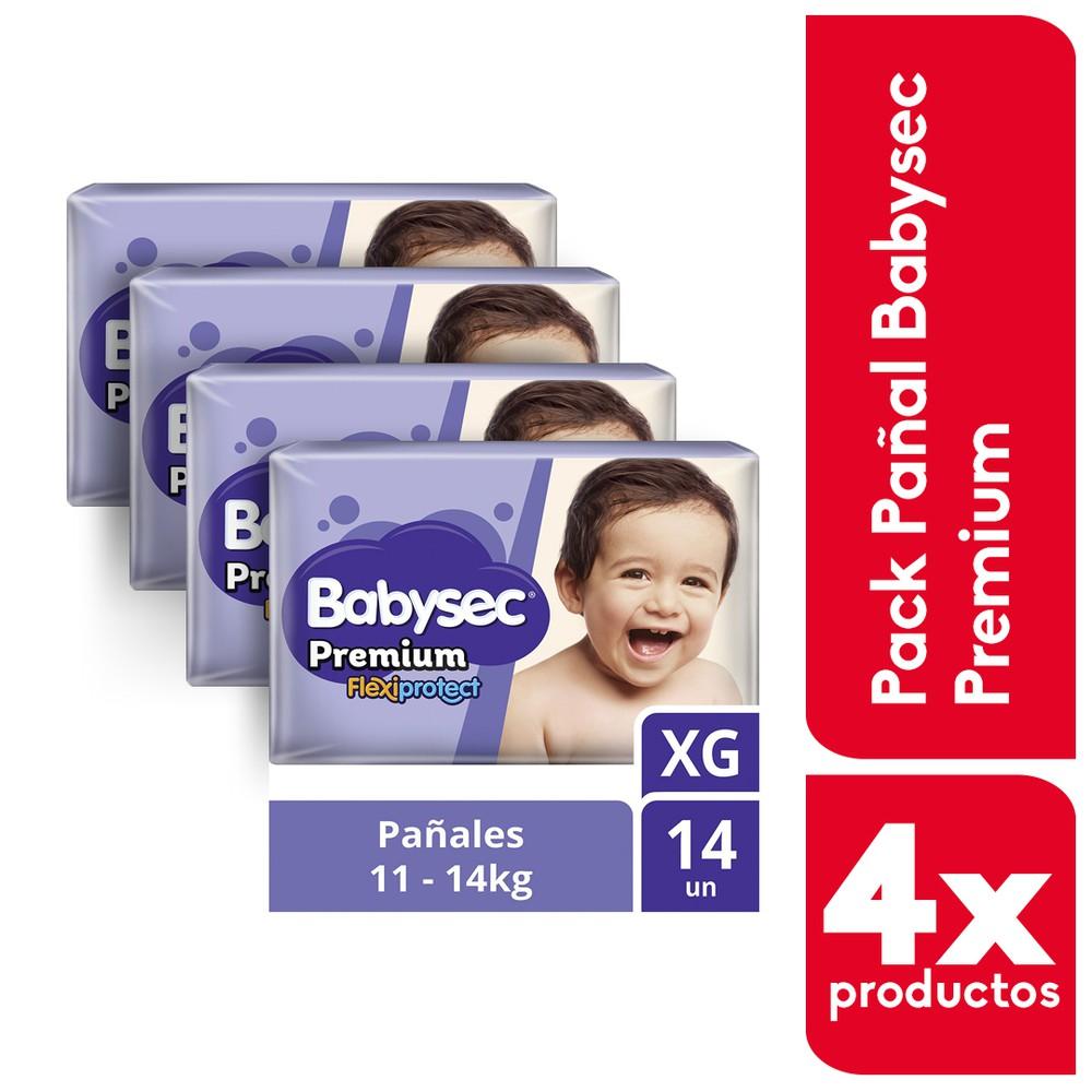 Pack pañales Premium Flexiprotect XG
