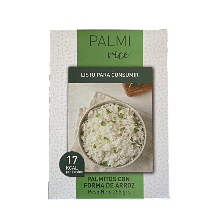 Palmito con forma de arroz 255 grs