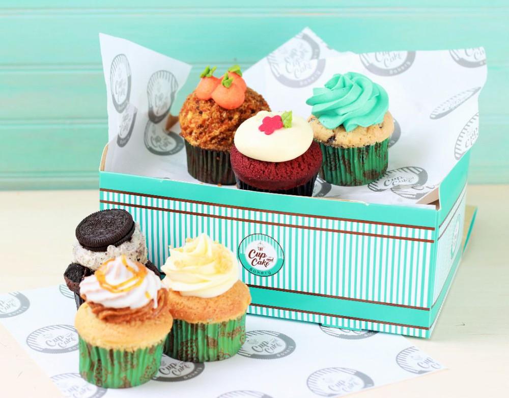 Box Variado de 6 Cupcakes (Pagas 5) Box (6 Unidades)