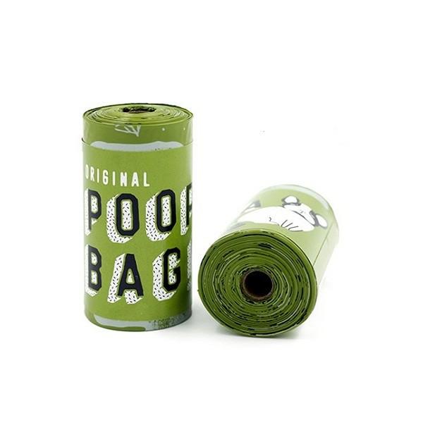 Bolsas para fecas biodegradables 1 rollo (15bolsas)