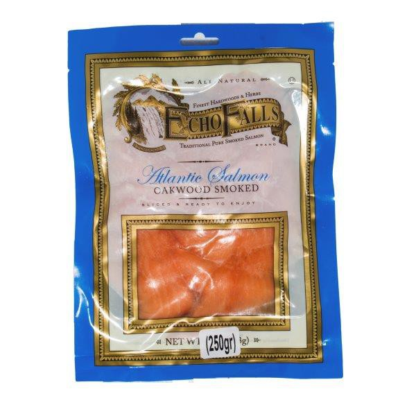 Trucha ahumada laminada 250 grs.