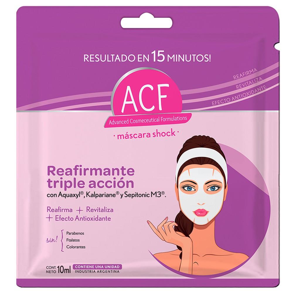 Sheet masque reafirmante triple accion afc