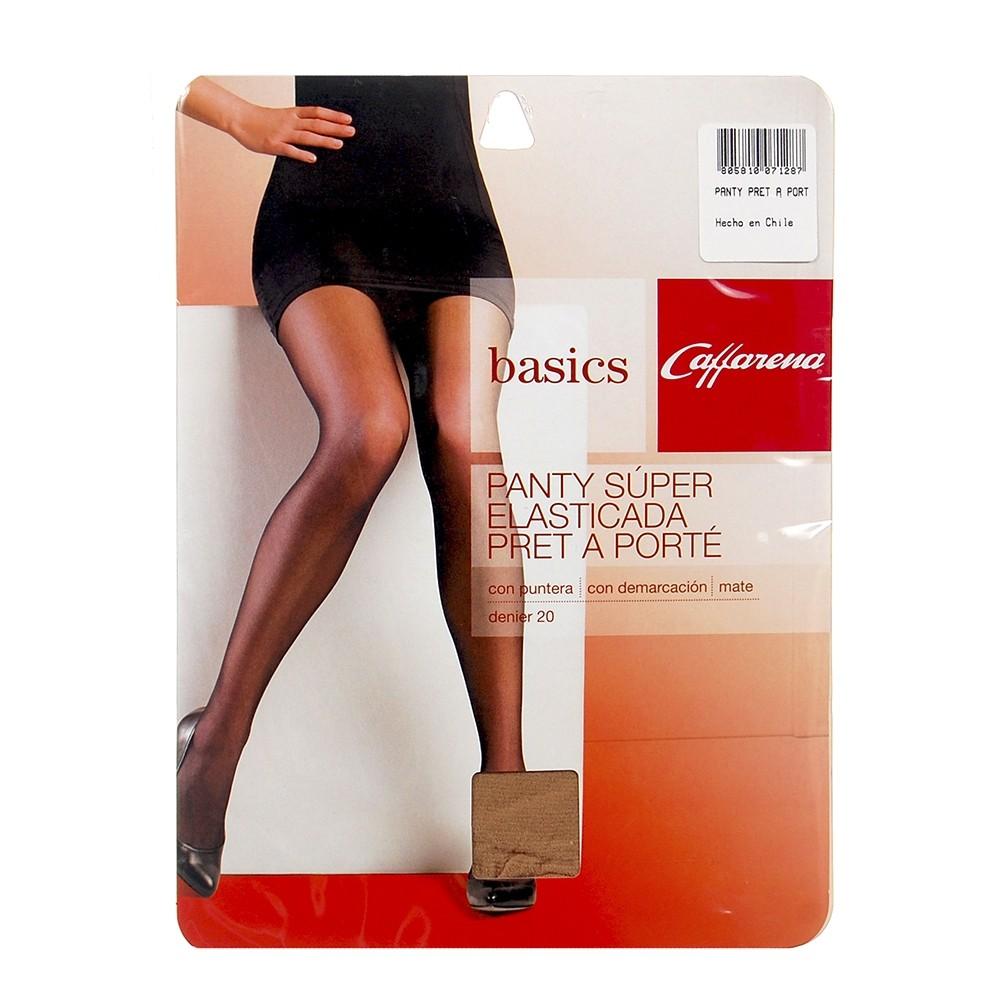 Panty Pret Elasticada T3 negro