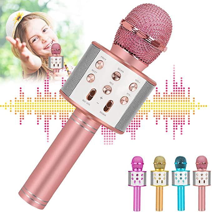 Micrófono de karaoke bluetooth 26 cm