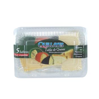 Tabla de quesos 5 sabores