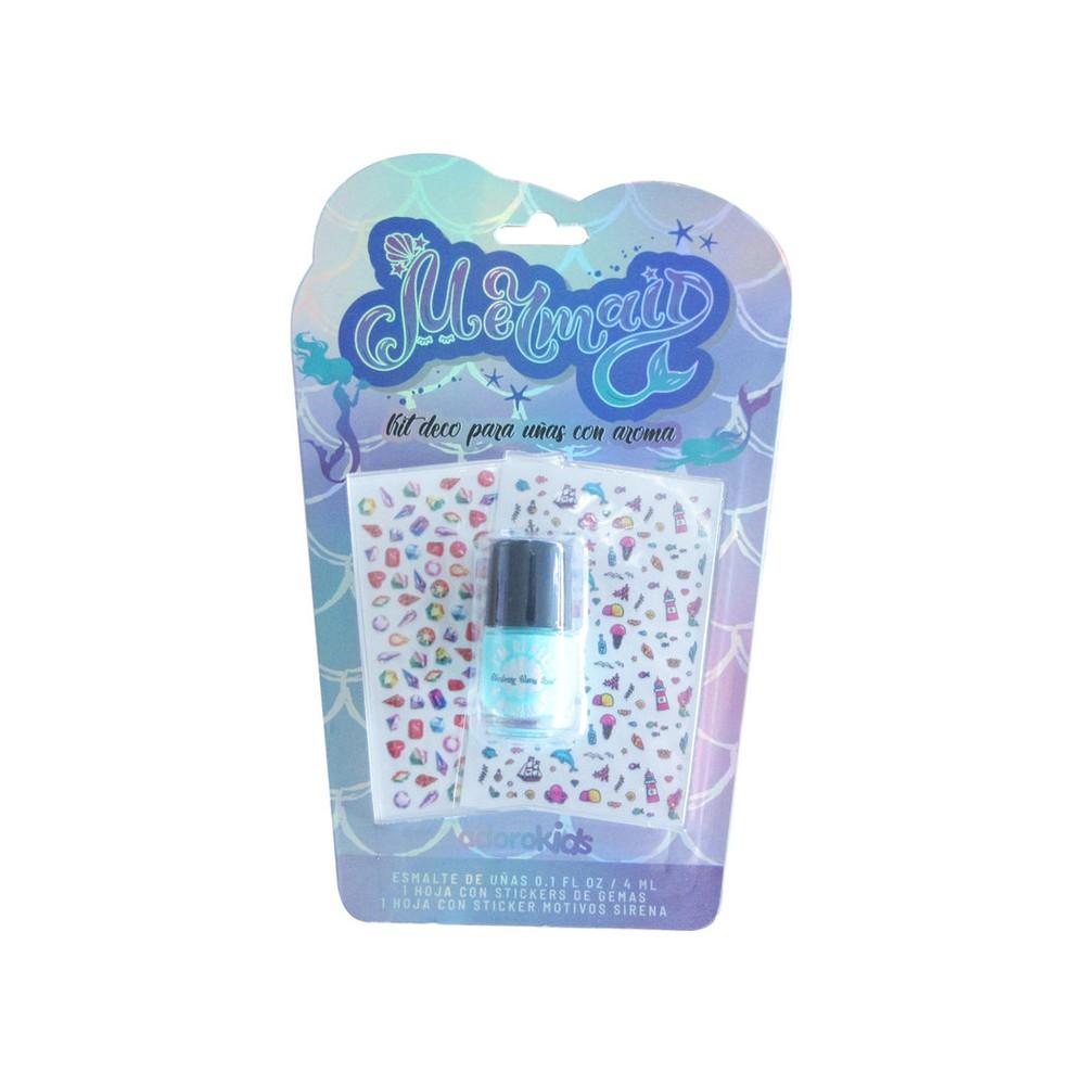 Kit de decoración de uñas con aroma Nail Mermaid