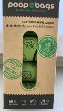 Poop bags 8 rolls 120 bolsas biodegradables