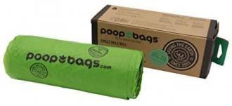 Rollo de bolsas biodegradables