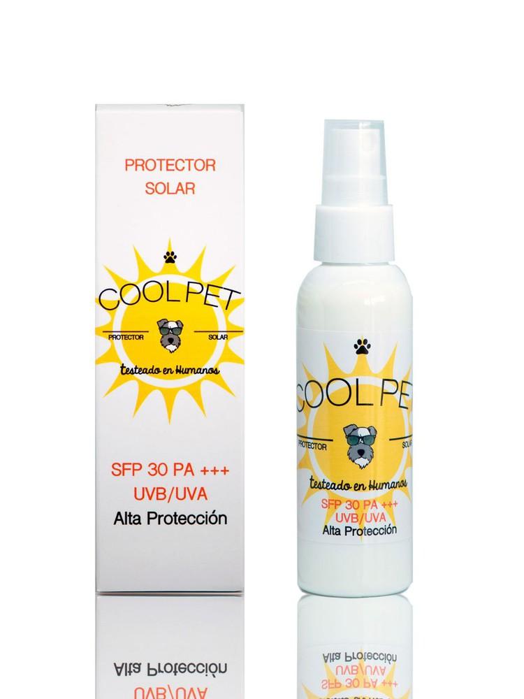 Protector solar sfp 30 para perros y gatos