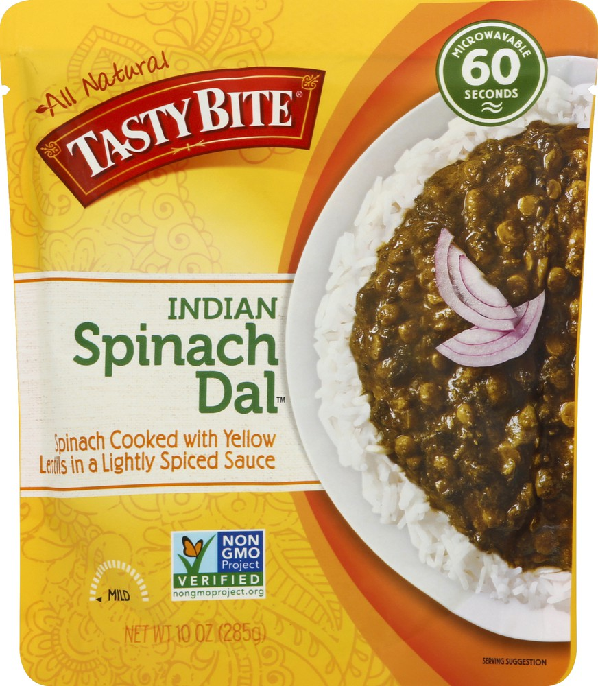 Indian Mild Spinach Dal