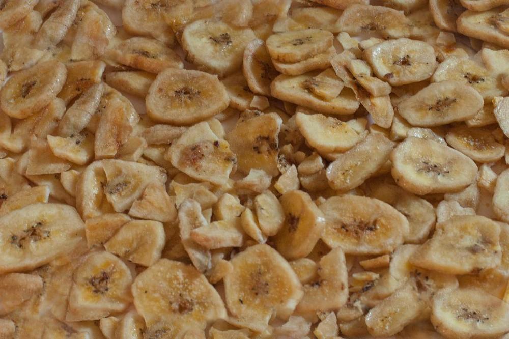 Banana chips dulces