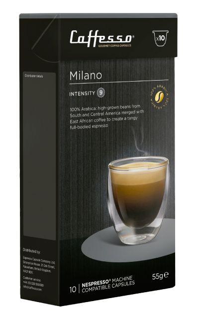 Cápsulas de café Milano