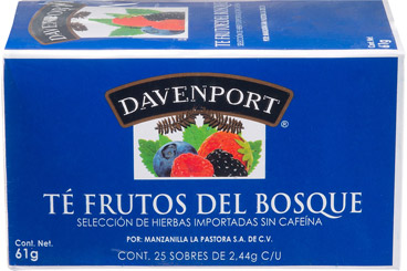 Te Frutos Del Bosque Davenport 61 G Davenport A Domicilio Cornershop By Uber Mexico