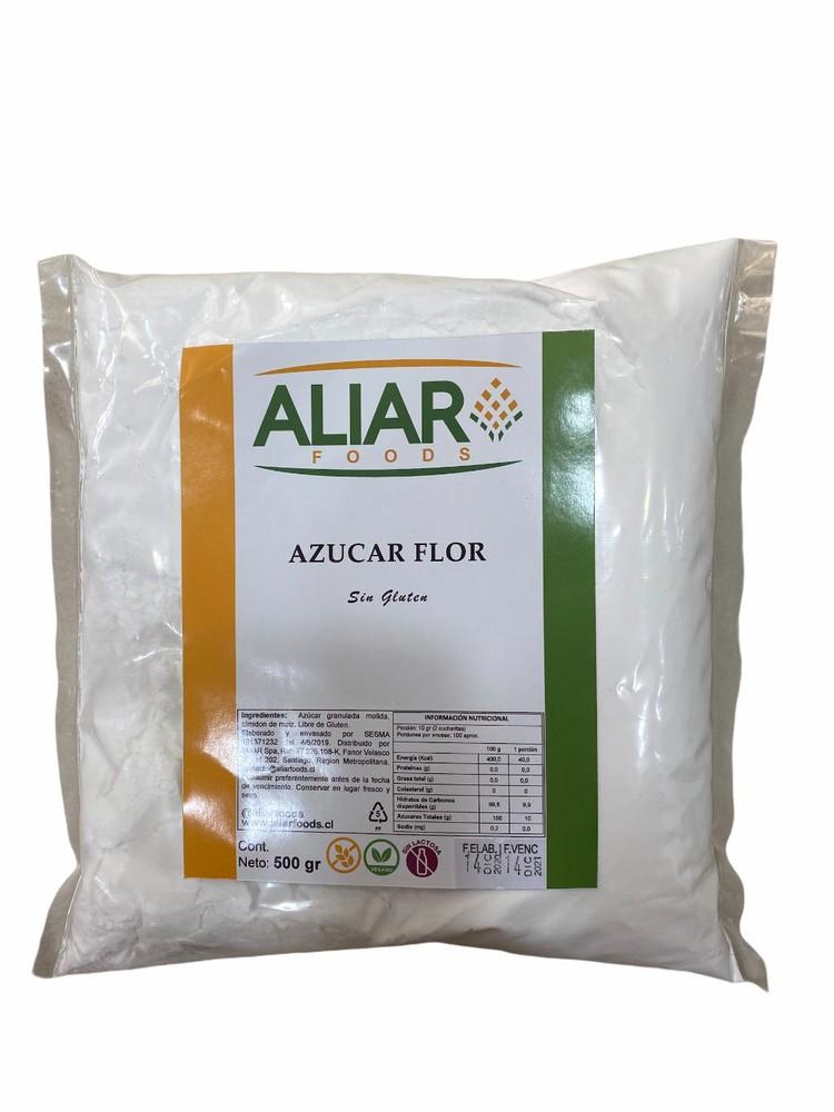 Azucar flor 500 gr aliar