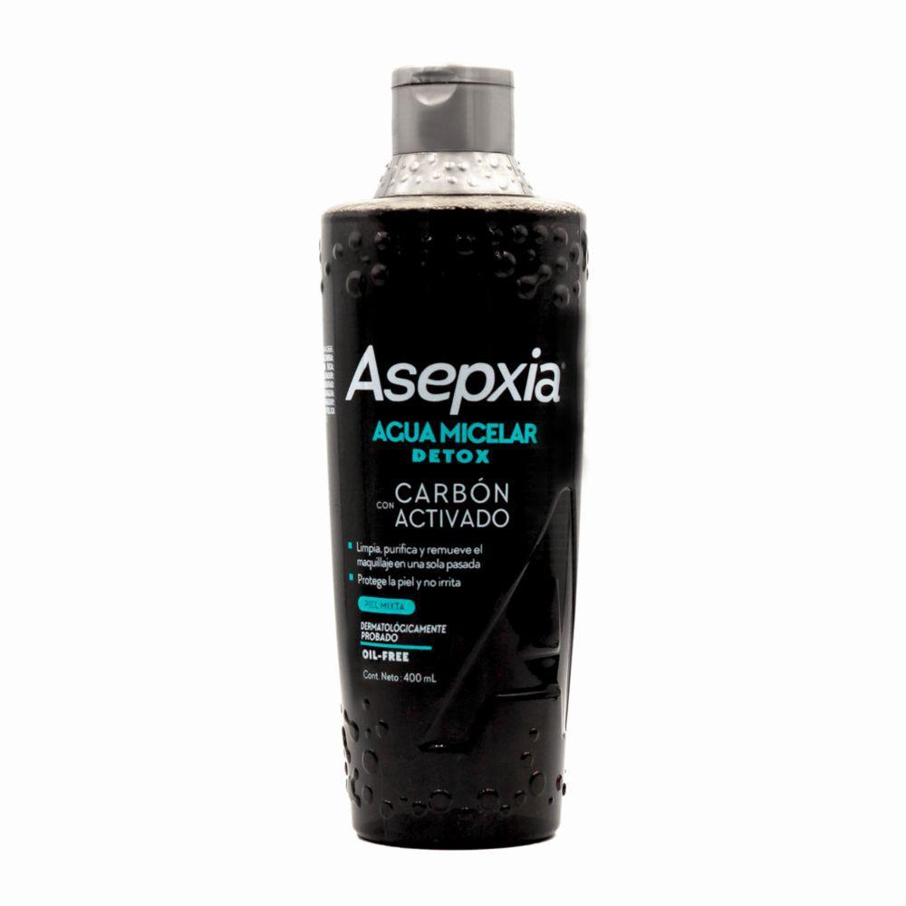Agua micelar detox