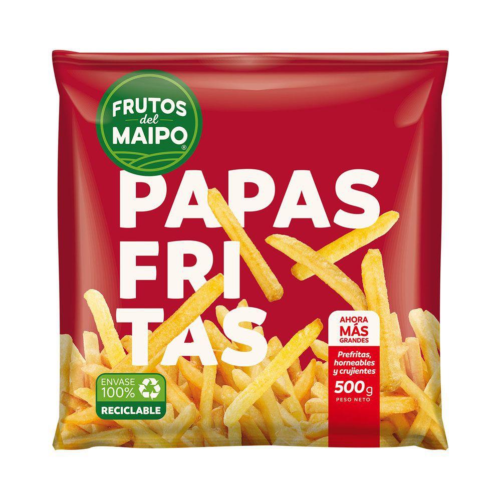 Papas pre fritas Bolsa 500 g