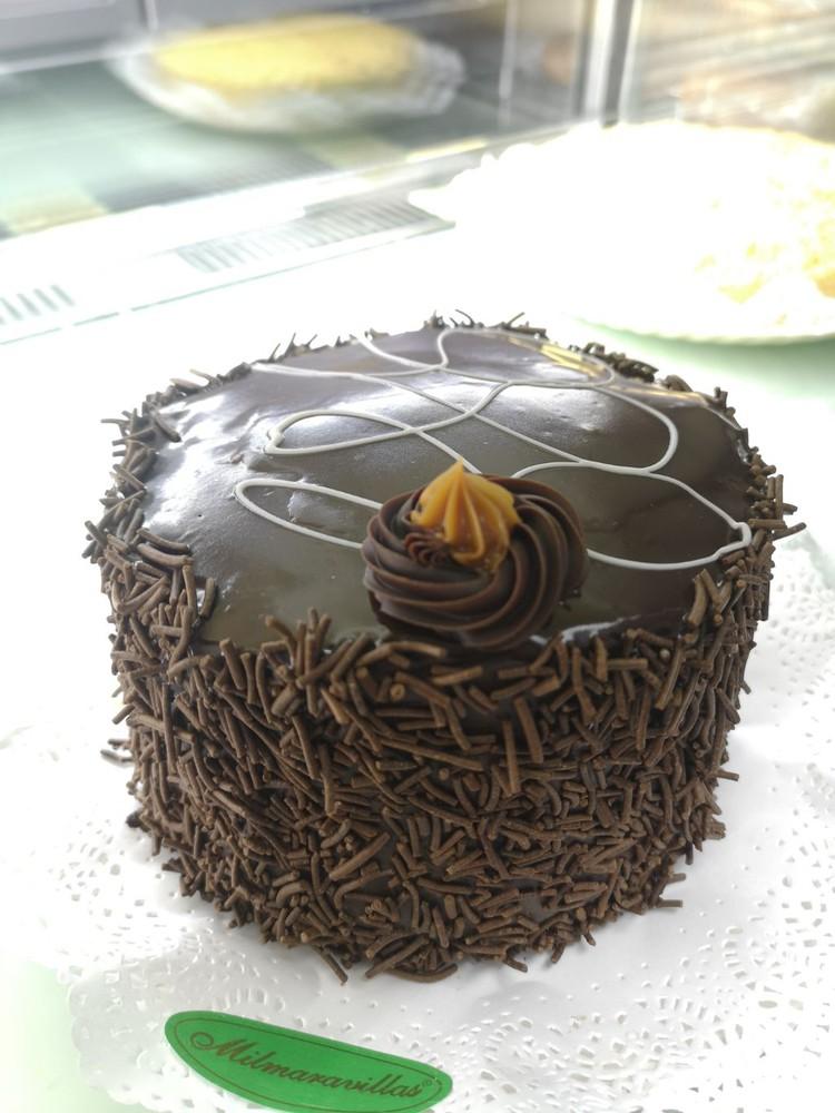 Torta chocolate y manjar