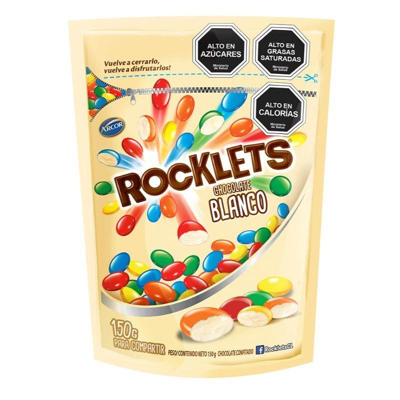 Rocklets chocolate blanco