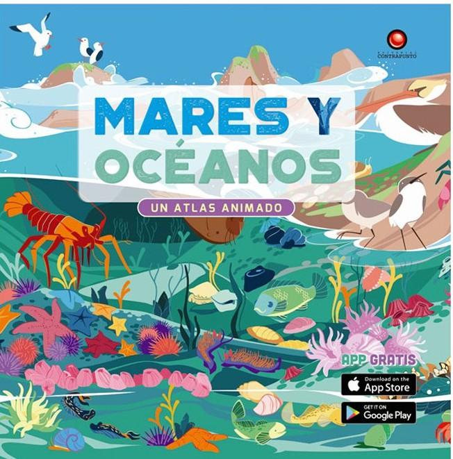 Mares y oceanos. un atlas animado Tapa Dura