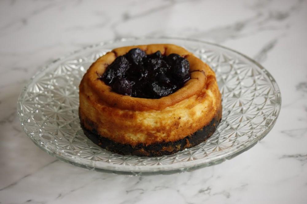 Cheesecake keto mini Para 2 personas