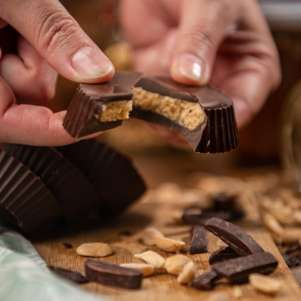 Fat bombs almendra - chocolate keto 250 grs