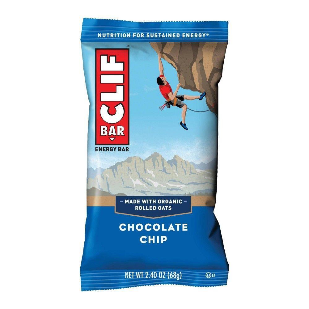 Barritas avena clif bar chocolate chip