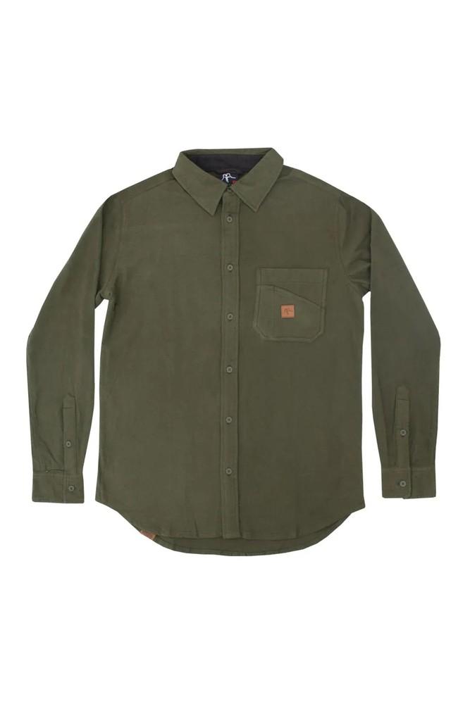 Shirt classic olive l Talla: L Color: Verde