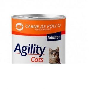 Alimento húmedo gato sabor pollo