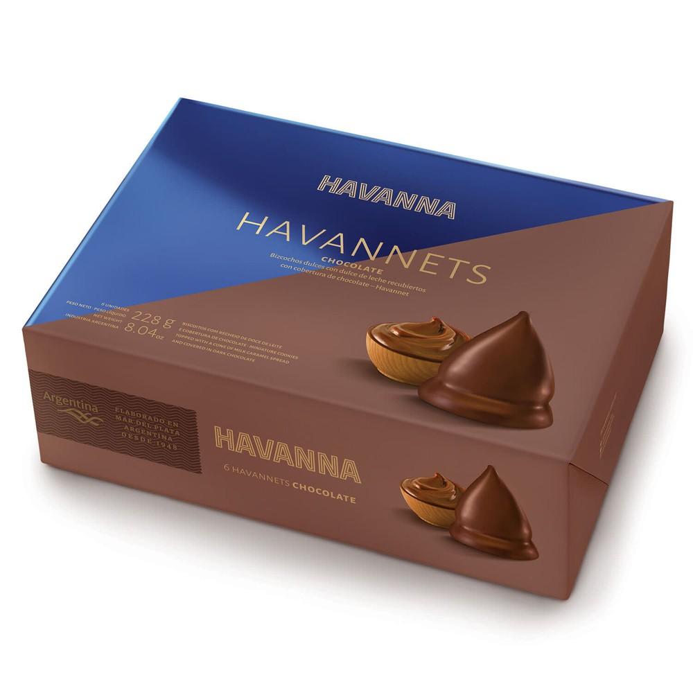 Havannets chocolate Caja 6 un