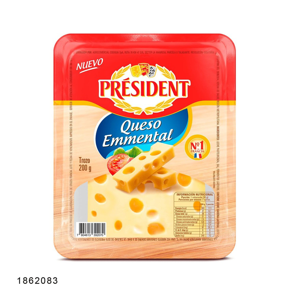 Queso Emmental trozo