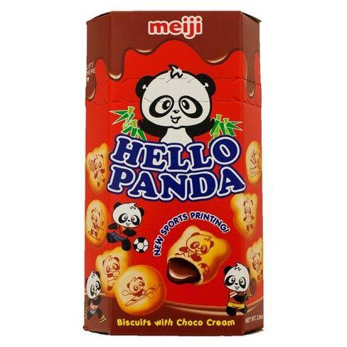 Hello panda creme-filled cookies - chocolate 2.1oz pack