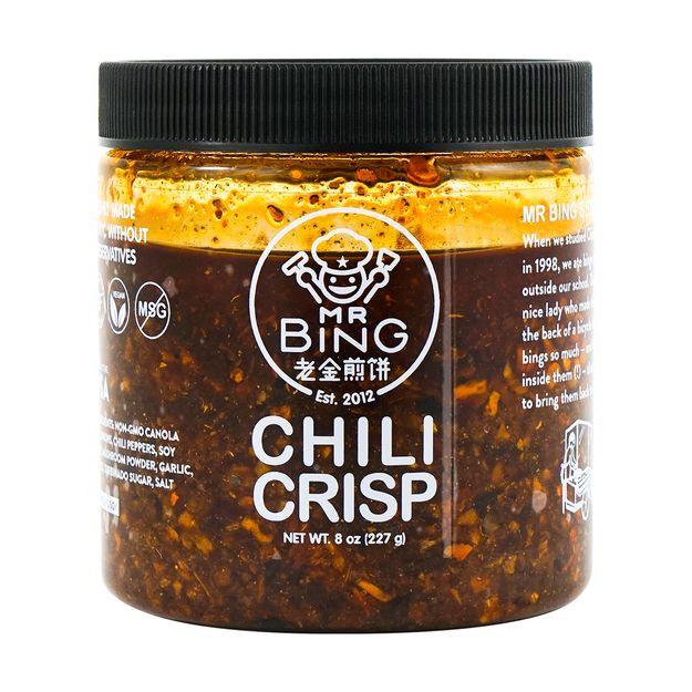Mr bing chili crisp - 7oz 7oz jar