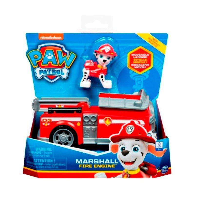 Vehículo con figura marshall 20x20x10
