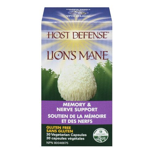 Lion's mane memory and nerve support capsules