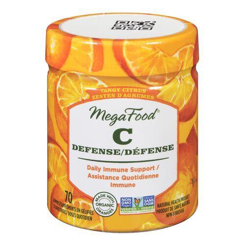 C defense tangy citrus gummy